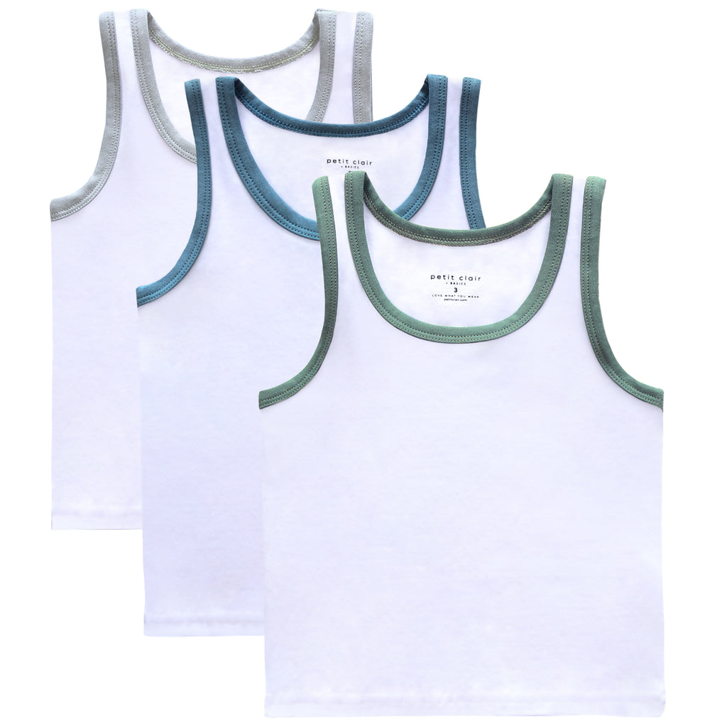 Boys Basic 3pc Tank Set