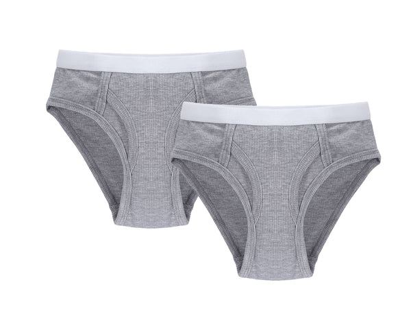 Boys Brief in Grey