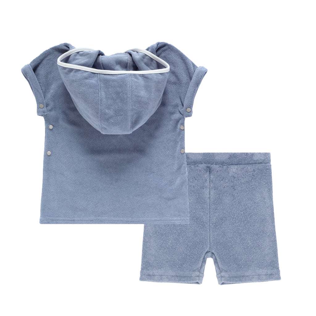 Boys Blue Terry Set