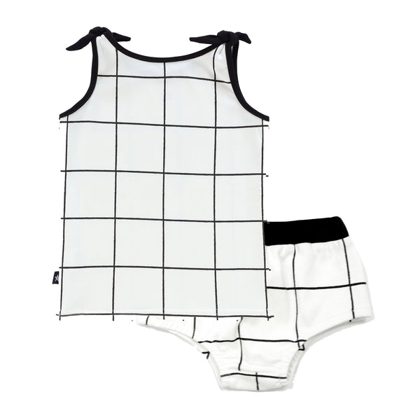 Baby Girls Grid Set