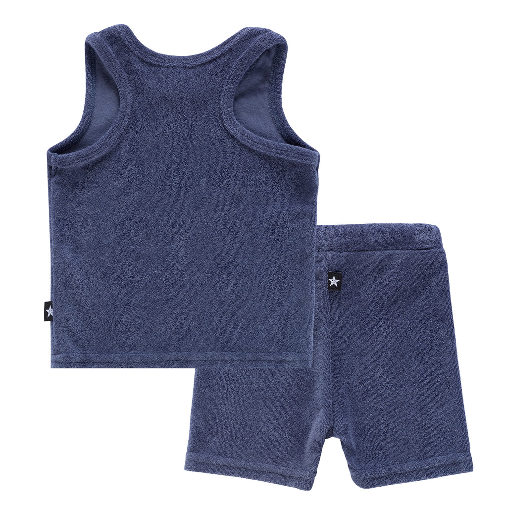 Baby Boys Terry Tank Set