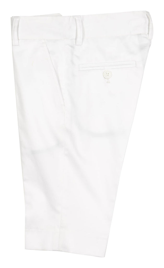 Boys Shorts in White