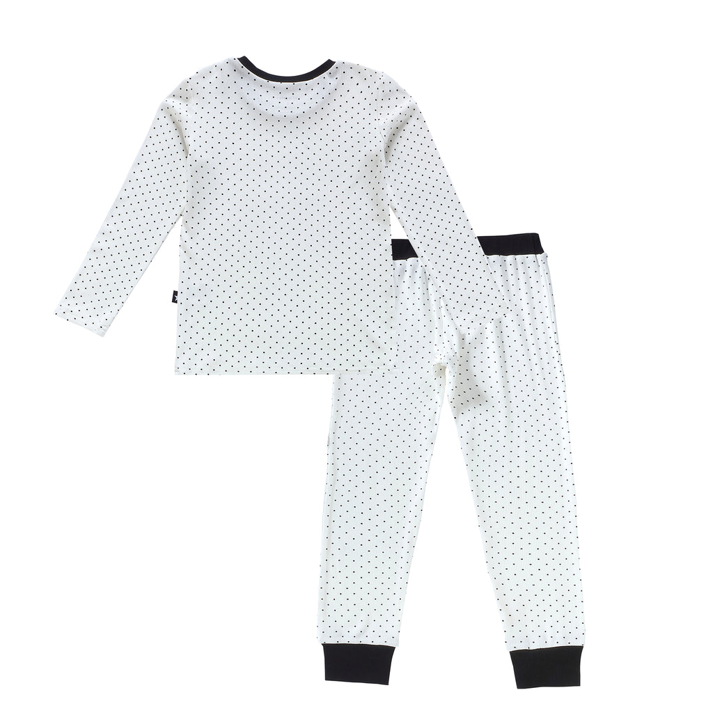 Black and White Polka Dot Pajama