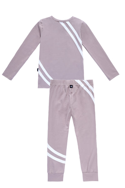 Stripe Pajamas in Lavendar