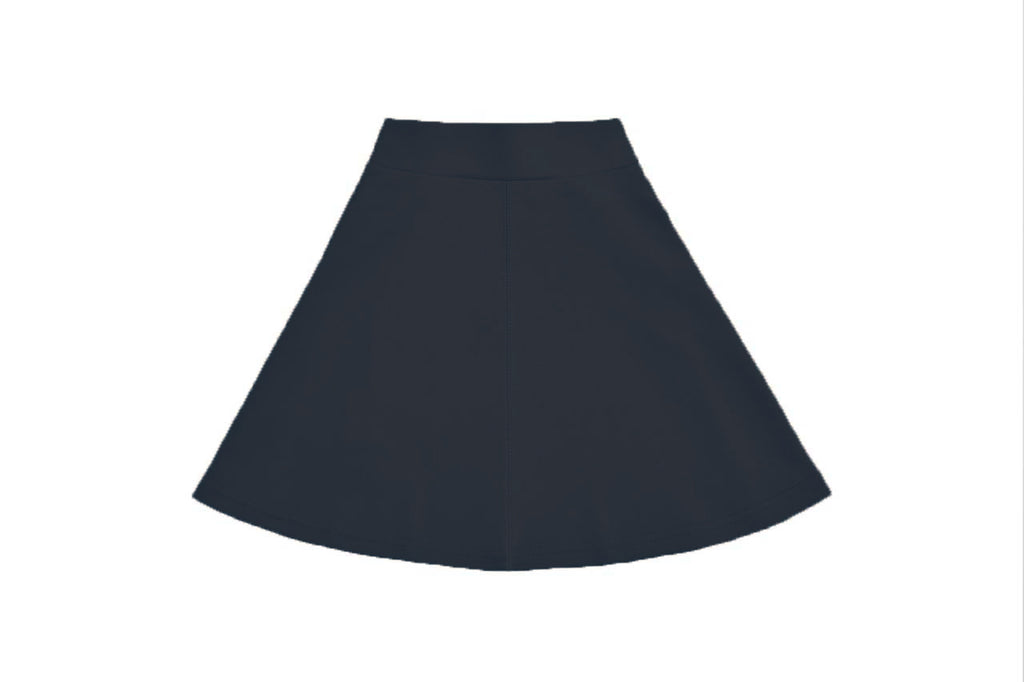 Girls Basic Navy Skirt