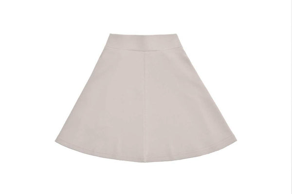 Girls Basic Tan Skirt