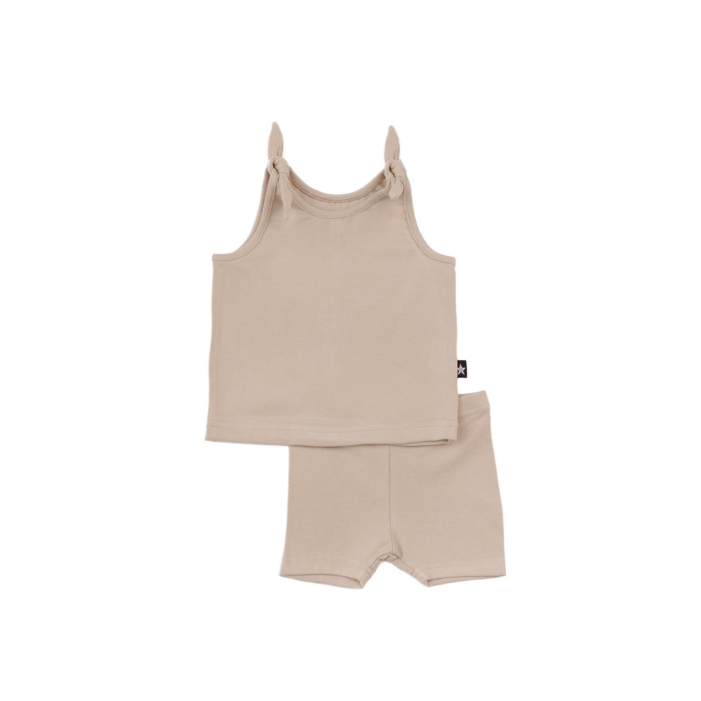 Baby Girl Basic Set in Beige