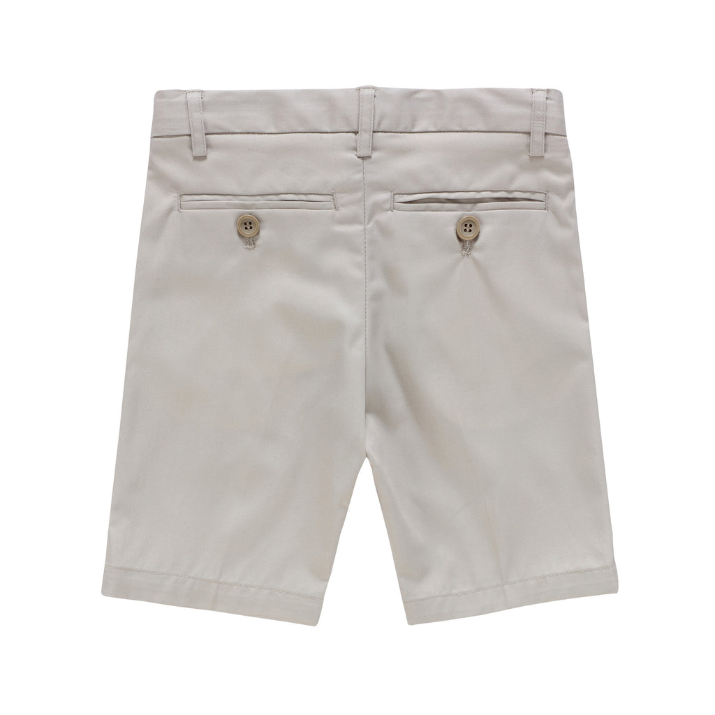 Boys Shorts in Light Tan