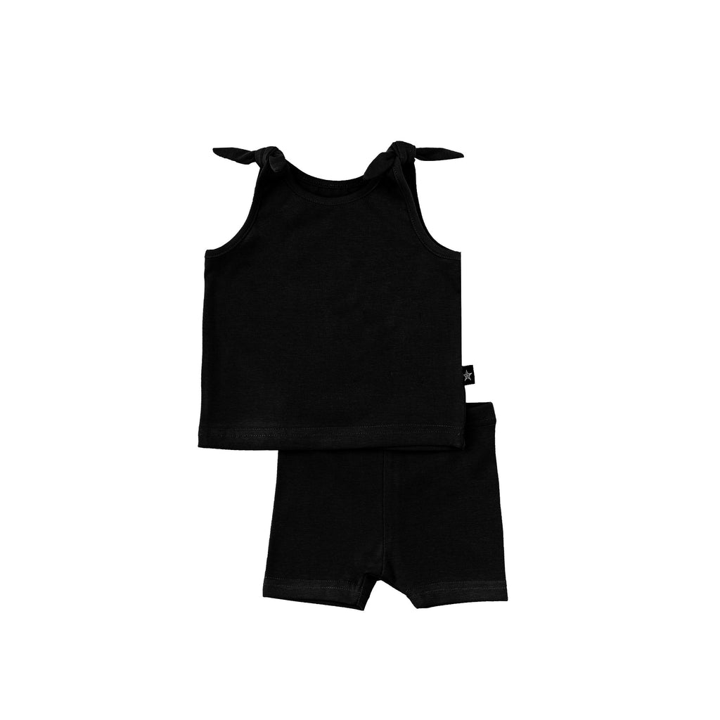Baby Girl Basic Set in Black