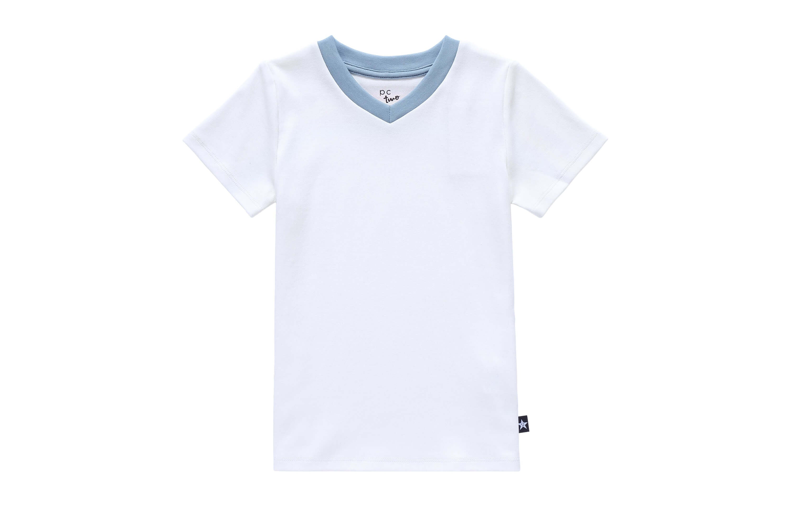 6dc158121 Boys' V-neck Rainbow T-shirt - Petit Clair