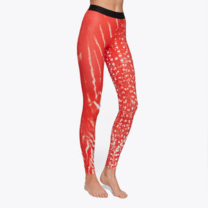 SUNSET SHADOW PRINT LEGGING