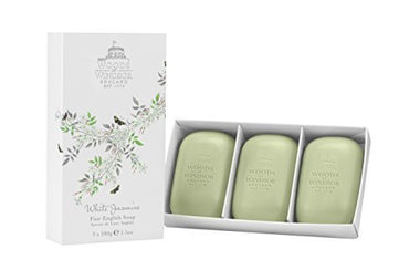 WOODS OF WINDSOR ESTUCHE 3 JABONES WHITE JASMINE de WOODS OF WINDSOR al mejor PRECIO