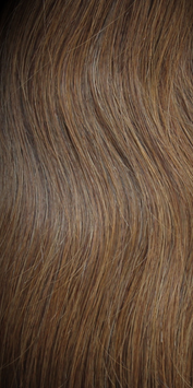 Textured Clip In Hair Extensions - Chestnut Brown 4