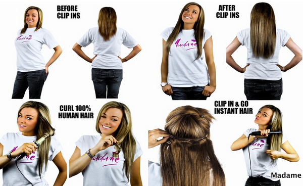 How to Use Clip In Hair Extensions