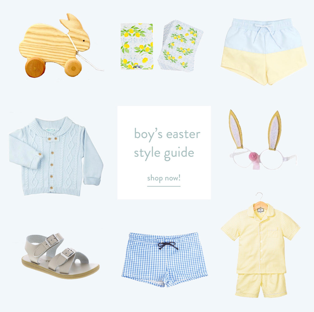 boy's easter style guide