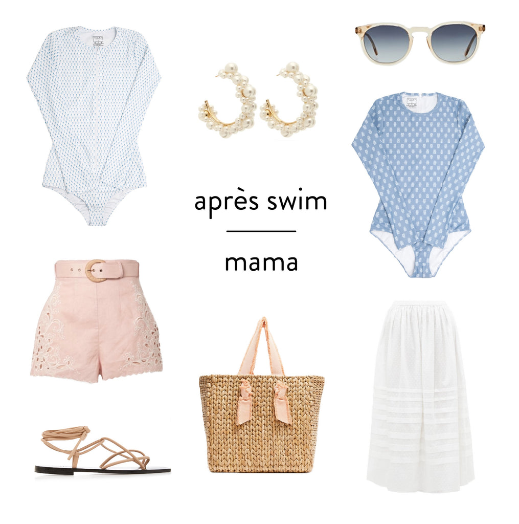 style guide : mama + mini apres swim
