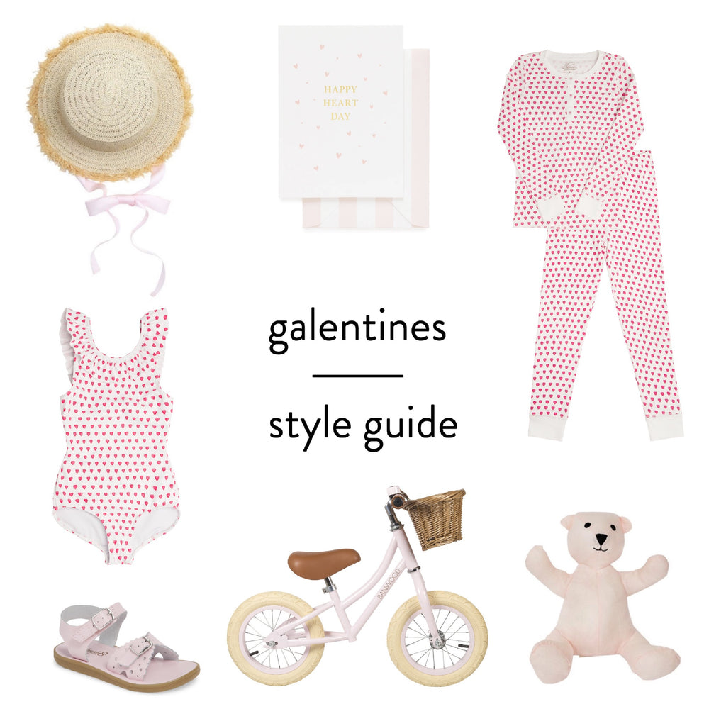 Galentines Style Guide