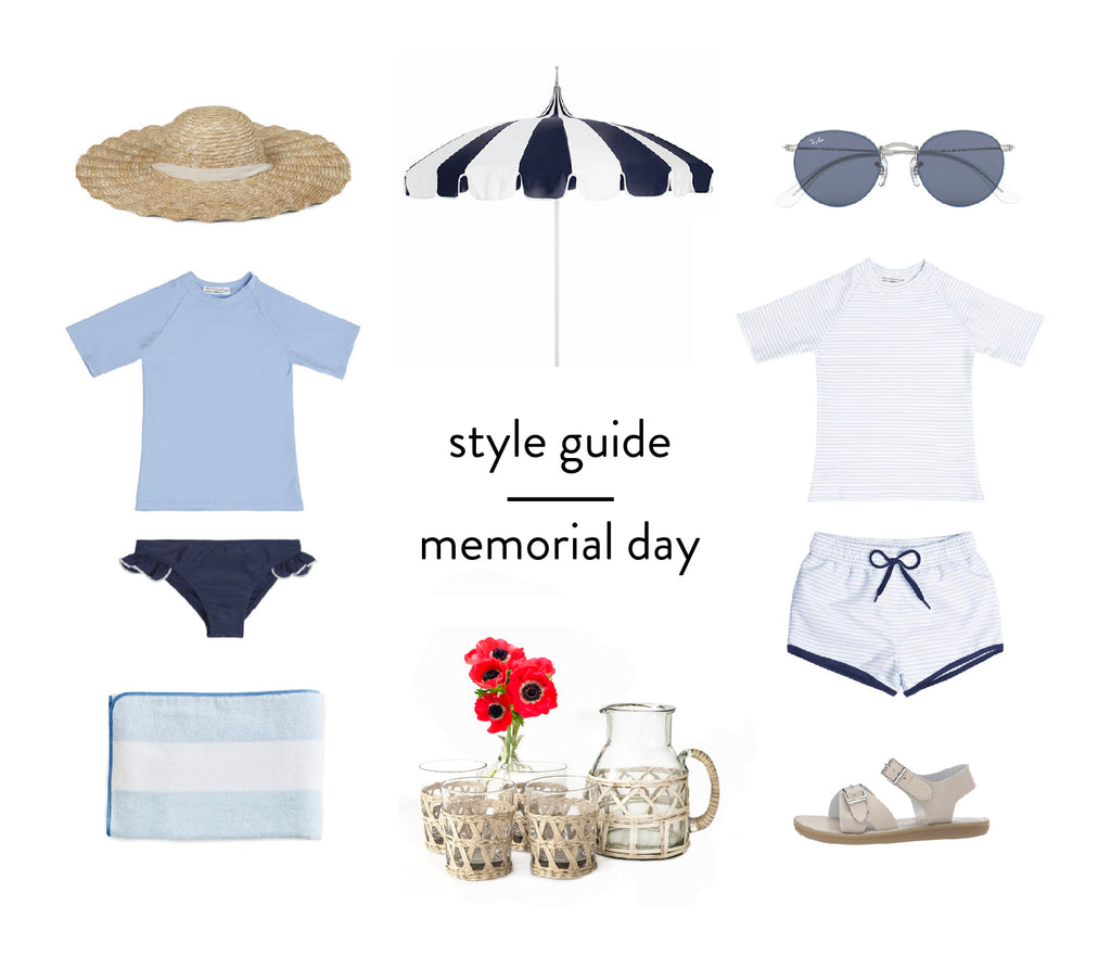 style guide : memorial day