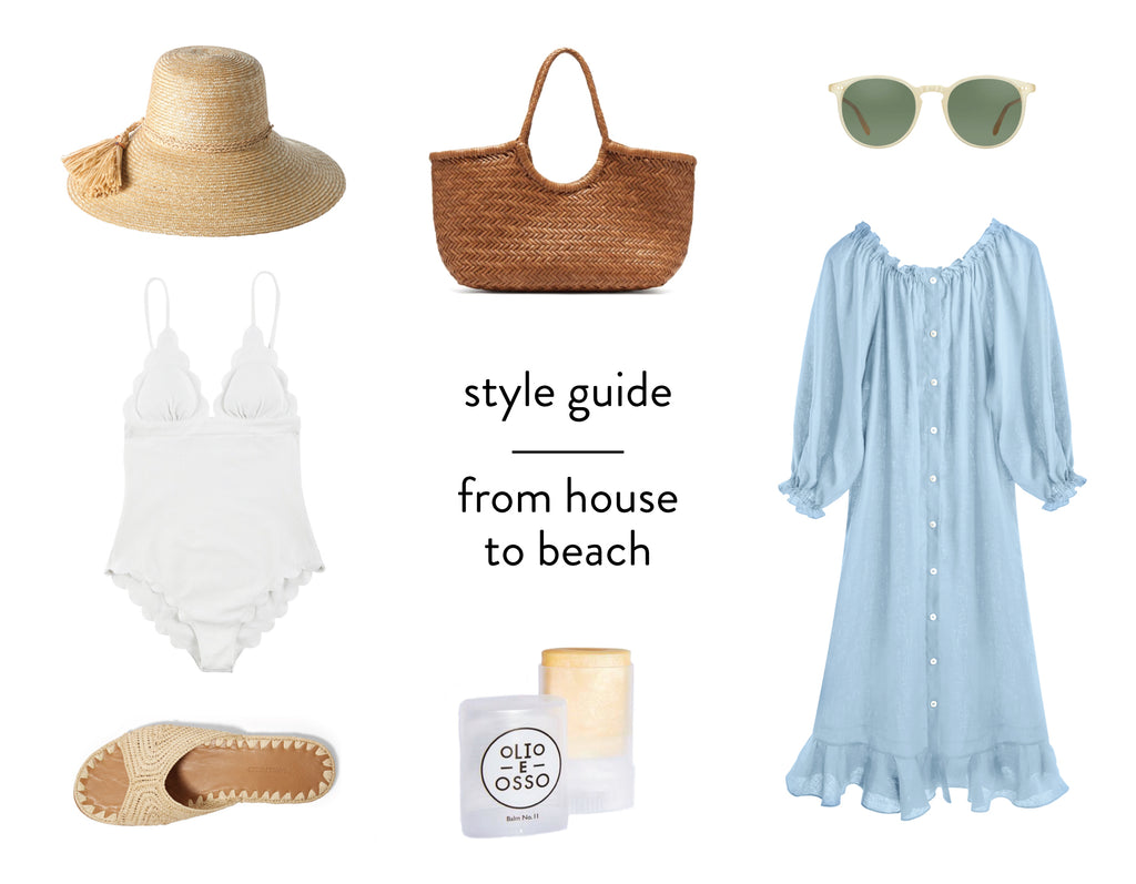 style guide : from house to beach