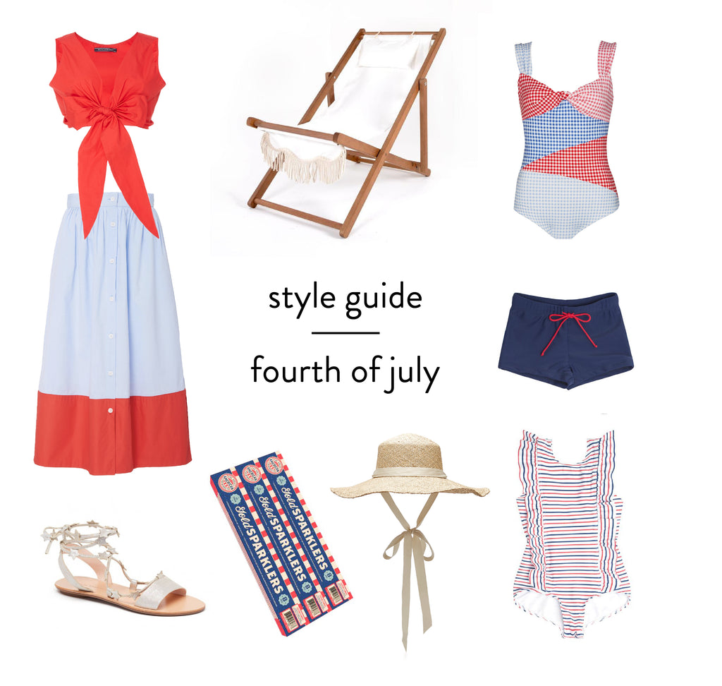 style guide : fourth of july