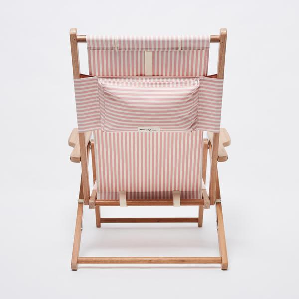 the tommy chair, pink stripe