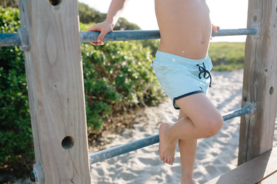 Boy's Soft Mint Boardie
