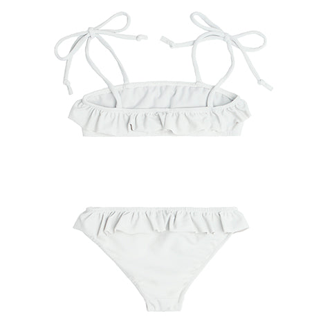 Girl's Dove Grey Bandeau Set