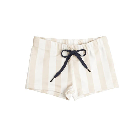 Boys Hazelnut Stripe Brief