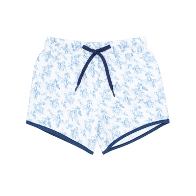boys brock x minnow blue fleur boardie
