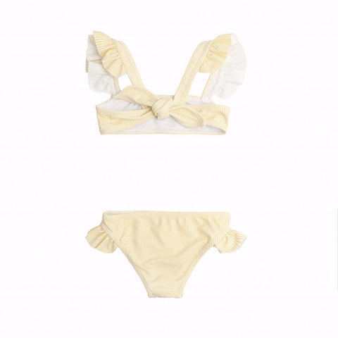 Buttercream Tie Back Bikini Set