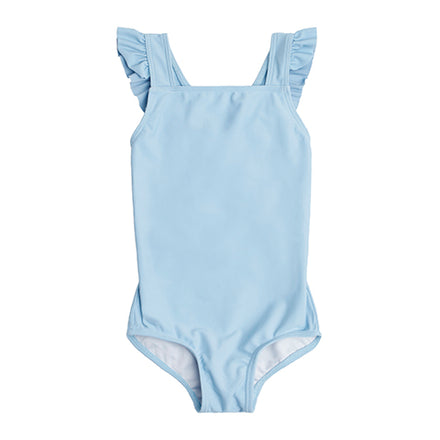 Girl's French Blue Crossover One Piece