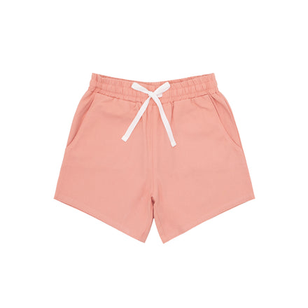 boys coral canvas short