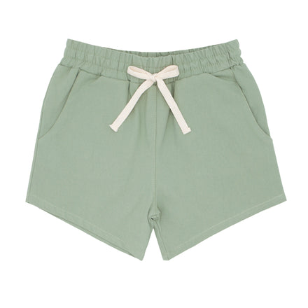 boys sage canvas short