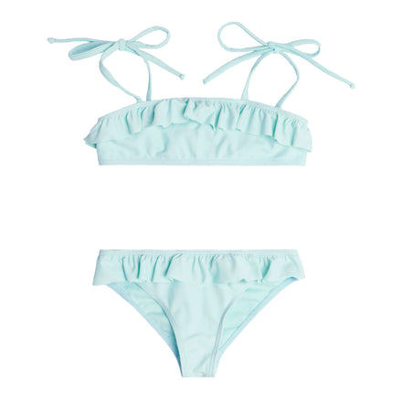 Girl's Soft Mint Bandeau Set