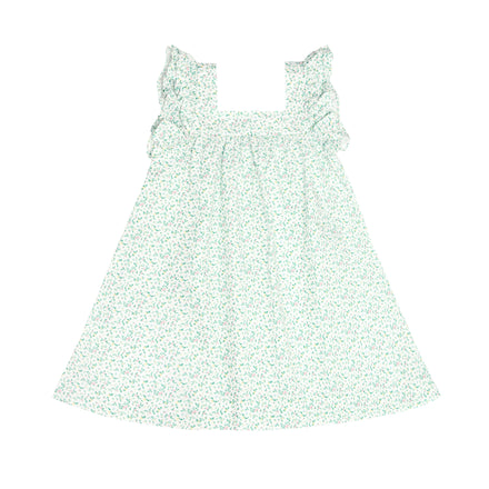 girls garden floral swing dress