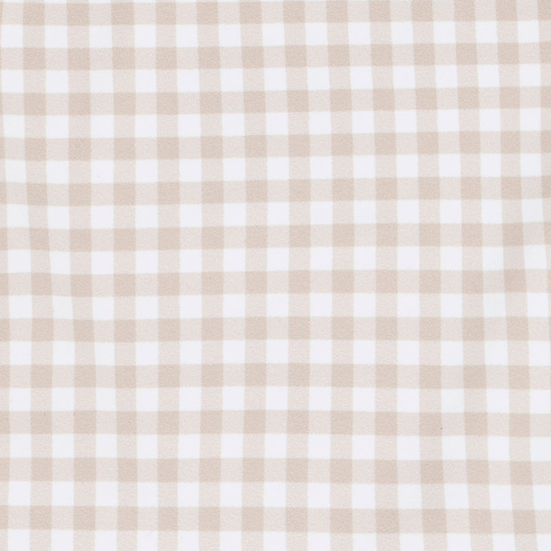 girls tan gingham bikini bottom