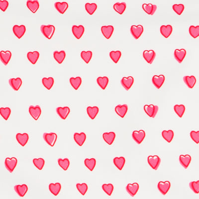 roller rabbit pink heart pajamas