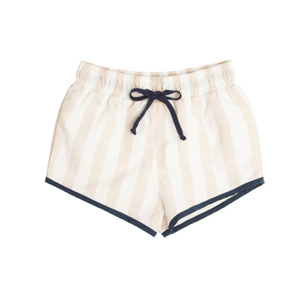 Boys Hazelnut Stripe Boardie