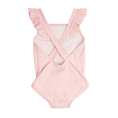 Girl's Pomelo Pink Crossover One Piece