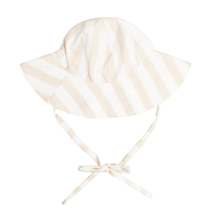 Hazelnut Stripe Sun Hat