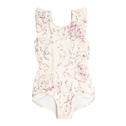 girl's biscotti ruffle one piece