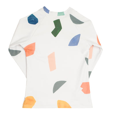 abstract shape rashguard