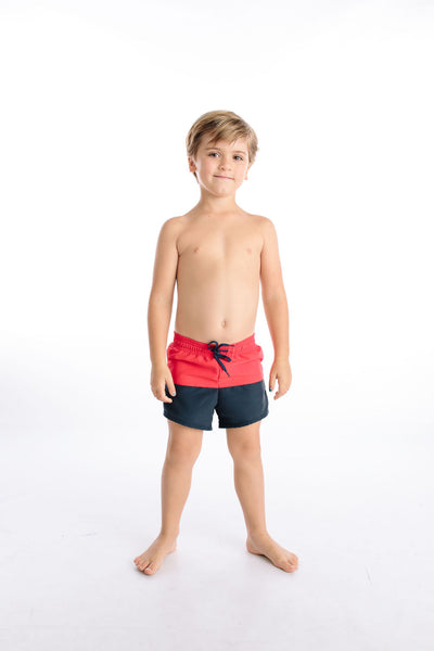 boys americana color block boardie