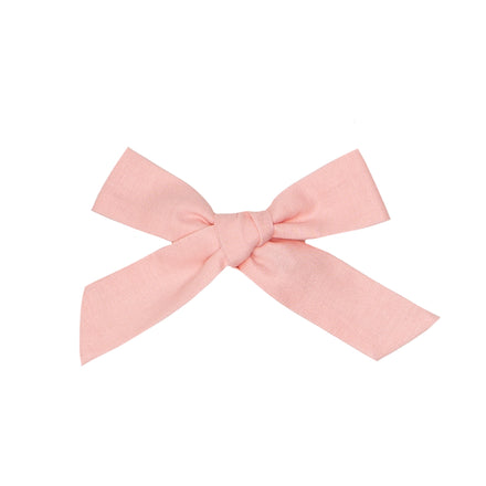 wunderkin x minnow medium bow, pink