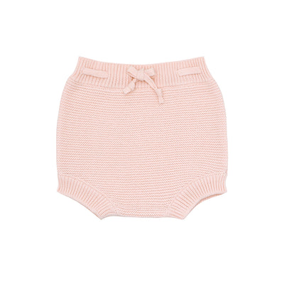 pink knit short