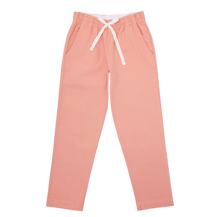 boys coral canvas pant