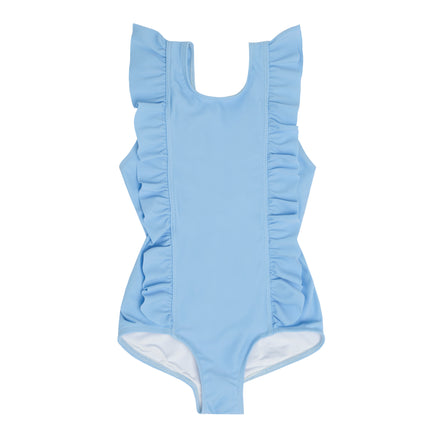 girls peri blue ruffle one piece