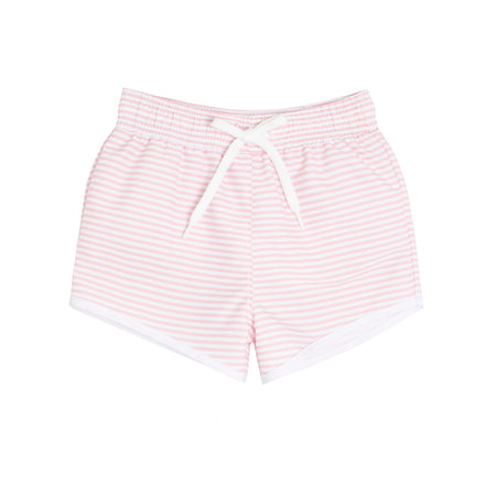 boys pink stripe boardie