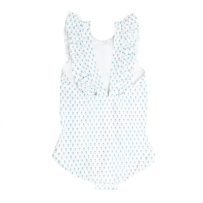 girls tulip ruffle one piece