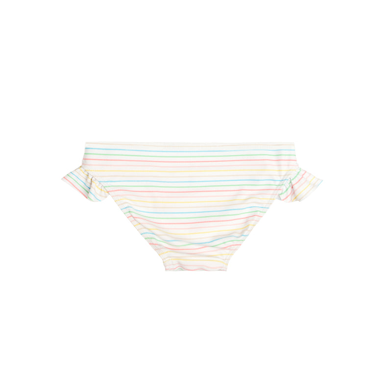 girls antique rainbow bikini bottom